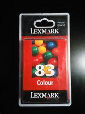 Lexmark No 83 Ink Cartridge Colour 19.2ml #4418