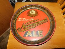 Narragansett Ale Metal Beer Tray 1930s