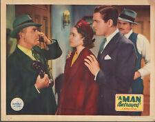 A Man Betrayed (1936) 11x14 Lobby Card #nn