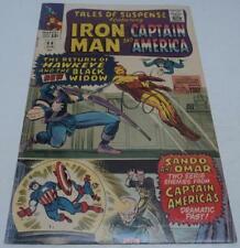 TALES OF SUSPENSE #64 (Marvel 1965) BLACK WIDOW dons costume (VG+) HAWKEYE app