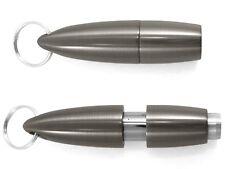 XIKAR Pull-Out 9mm Cigar Punch GUNMETAL Keychain! #009GM New! SALE! SAVE 23%25!!