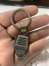 New listing Vintage Cb Radio Ham Radio Pewter Keychain