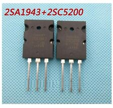 5pairs 2SA1943 A1943 + 2SC5200 C5200 transistor Original Toshiba 10pcs