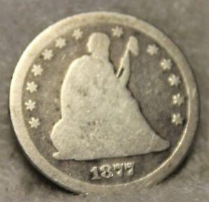 1877CC seated quarter