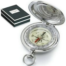 Dalvey - Stainless Steel - Vintage - Compass & Gift Box - Explorer C.Compass -