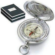 DALVEY - Edelstahl - Vintage - Kompass & Geschenk-Box - Explorer C.Compass - NEU
