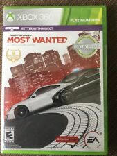 Need for Speed: Most Wanted Limited Edition Xbox 360 NEW FREE SHIPPING racing