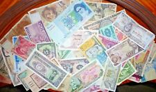 Lot of 52 International Banknotes Obsolete/Circulated 1914-2003