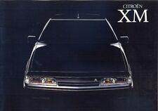 CITROEN XM 1989 accesorios de texto alemán folleto de ventas