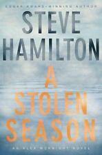 Steve Hamilton~A STOLEN SEASON~SIGNED 1ST/DJ~NICE COPY