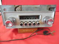 Orig. 1963 Dart All Transistor Bendix Car Radio #3BLE 215 with Knobs & Faceplate