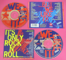 CD IT'S ONLY ROCK AND ROLL compilation 94 INXS U2 FREE POLICE(C45*)no*lp*mc dvd