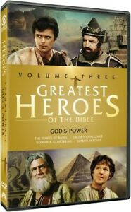 Greatest Heroes of the Bible: Volume Three [New DVD] Full Frame, Mono