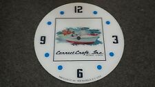 """*NEW*14.25"""" CORRECT CRAFT MARINE BOAT WATERCRAFT ROUND GLASS FACE FOR PAM CLOCK"""
