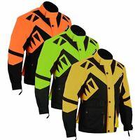 GermanWear Textilien Jacke Motorradjacke Kombigeeignet in der 3x Farben
