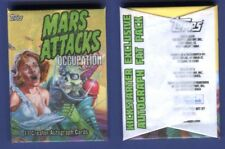 2015 Topps Mars Attacks Occupation Kickstarter Sealed Exclusive Autograph Pack
