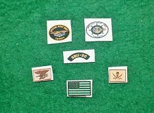 1/6 US NAVY SEAL TEAM SPECIALE BARCA UNIT 20 SBU INSIGNIA patch