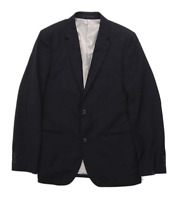 Topman Mens Black Suit Jacket 38 Chest (Regular)