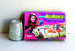 Dollhouse Miniature 1:12  Mall Madness Game 1970s  dollhouse girl board game