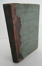 FIRST LESSONS IN CIVIL GOVERNMENT, State of Ohio by Andrew W Young, 1846