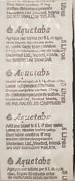 Aquatabs Potable Water Purification Tablet 17mg treats 1-5 lt  exp 3/23 Cheapest