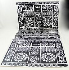 Henna Stencil Mehndi Stencils Arabic/Indian Style, Pack of 40 pages, large size