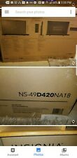 Insignia NS-49 420 NA 18 50inch  LED TV