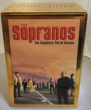 The Sopranos The Complete Third Season (VHS, 2002)