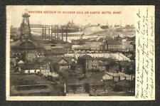 BUTTE MONTANA OIL DRILLING TO MOMBASA BRITISH EAST AFRICA POSTCARD 1906