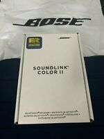 BOSE SOUNDLINK COLOR II BLUETOOTH WIRELESS SPEAKER POLAR WHITE 1-YEAR WARRANTY