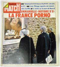 Paris Match N° 1373 - 20 septembre 1975 - Bourvil, Emmanuelle, histoire d'O