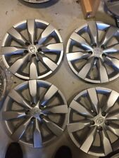 "4-2014 2015 2016 Toyota COROLLA HUBCAPS WHEEL COVERS O/E 16"" WHEELCOVERS"