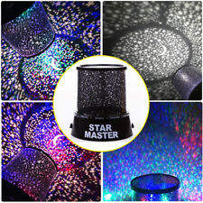 Romantic LED Star Starry Night Sky Projector Lamp Fairy Gift light Cosmos Master