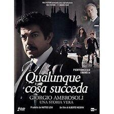 Dvd QUALUNQUE COSA SUCCEDA - (2 Dvd) Serie Tv ......NUOVO