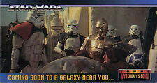 #58 500 Star Wars Clone Wars Widevision Silver Stamped Parallel Base Card