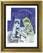"Pablo Picasso Signed/Hand-Numbr Ltd Ed ""Francoise Claude Paloma""Litho (unframed)"