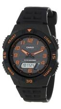 Casio Mens AQS800W-1B2 Tough Solar 100M LED World Time Sports Watch NEW