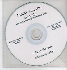 (CO532) Jimmy And The Sounds, Little Victories - DJ CD