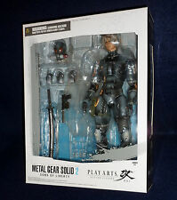 "Metal Gear Solid 2: Sons of Liberty RAIDEN Play Arts Kai 10"" Action Figure MGS"