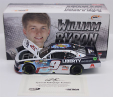 2017 William Byron Liberty University Rookie Of The Year 1/24 Autographed New