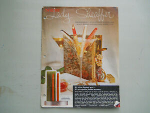 Sheaffer Vintage l959 Lady Sheaffer Catalog Sheet with prices