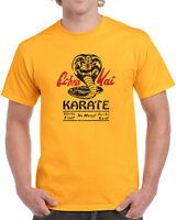 147 Cobra Kai mens T-shirt dojo karate movie 80s kid costume vintage no mercy