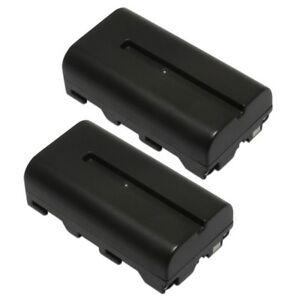 Refuelergy 2x BATTERIES for Neewer CN160 LED Video Light Sony NP-F550 BATTERY X2