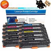 10PK CF380X High Yield Color Toner for HP 312X Laserjet Pro M476dn M476dw M476nw