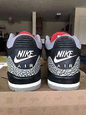Air Jordan Retro III 2001 Black Cement Size 13