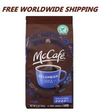 McDonald's McCafe Breakfast Blend Ground Coffee 12 Oz FREE WORLDWIDE SHIPPING