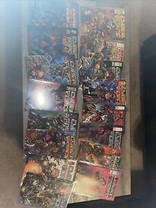 Cyber Force Comic Lot Of 28 1-28