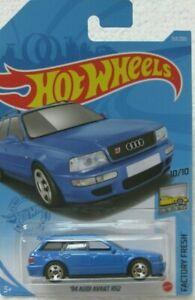 Hot Wheels 1/64 _ 2021 _'94 Audi Avant RS2 / Blue / US card _Factory Fresh 10/10