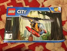 MANUAL LEGO CITY 60161 Jungle Exploration Site BOOK 2 ONLY FREE POSTAGE