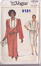 Vintage VOGUE  Ladies Sewing Patterns - 9 Designs -  Reduced to Clear!!!